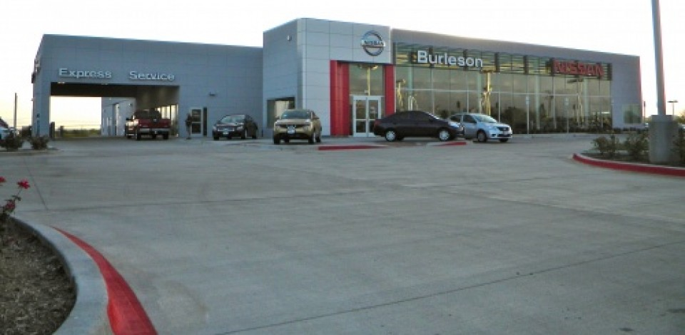 Nissan Of Burleson Car Dealership In Fort Worth, Dallas TX